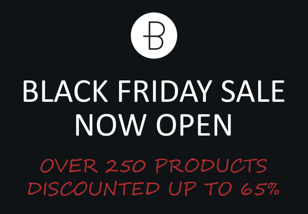 Black Friday Annual Clearance Sale Open!