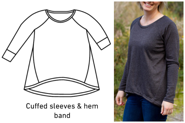 Make It Perfect Raglan Twist Top