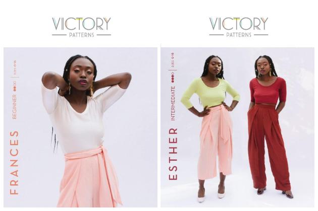 Victory Patterns Frances & Esther: Digital PDF Patterns