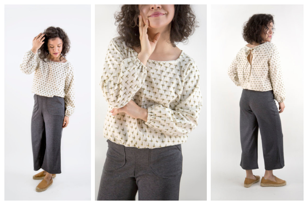 The Friday Pattern Company Raglan Blouse