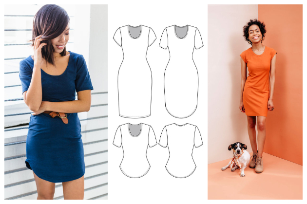 The Friday Pattern Company Sunny Dress and Top