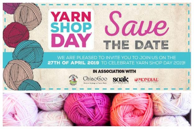 27th April: Yarn Shop Day 2019 at Backstitch